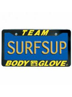 Team Body Glove License Plate Holder