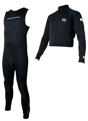 2006 System 5 jacket/john wetsuit