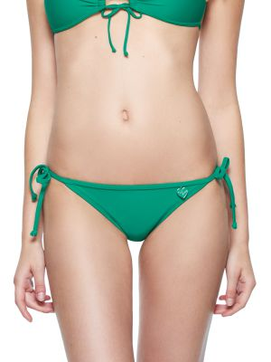Smoothies Tie Side Bikini in Emerald