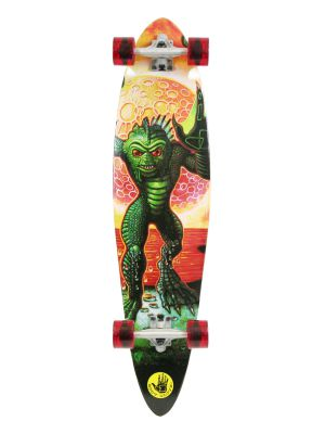 "Body Glove 40"" CREATURE Pintail Longboard Skateboard"