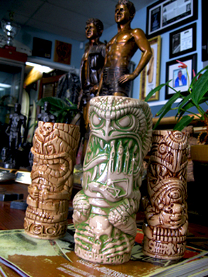 60th Anniversary 3 Tiki-Mug Set