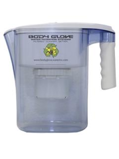 Body Glove Filtered Portable 1-gallon Water Pitcher