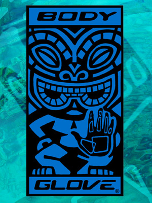 Body Glove Blue Tiki Towel
